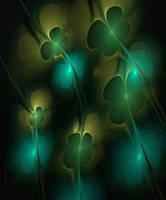 four-leaf clover for good luck by SvitakovaEva
