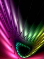 apophysis fractal  wallpaper by SvitakovaEva