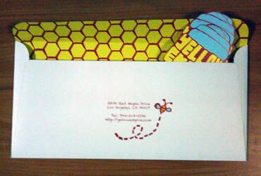 Yellow Empire Envelope by Torasuto