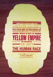 Yellow Empire Post Card by Torasuto