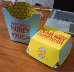 Yellow Empire Fast Food by Torasuto
