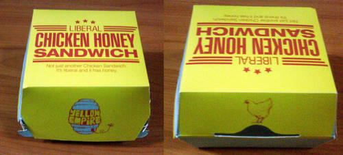Yellow Empire Burger Box by Torasuto