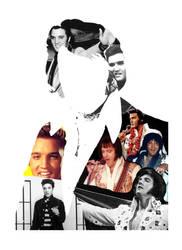 Elvis Presley Collage by Torasuto