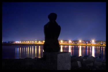 Kliche at night in Spain by aasa-bergem