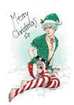 BTOM_Christmas Pin up by TashinaKalmbach