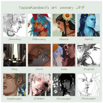 2017SummaryofArt by TashinaKalmbach