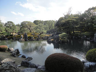 Garden in Nijo Castle by KXSakuraba