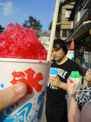 Shaved Ice Treat! by KXSakuraba