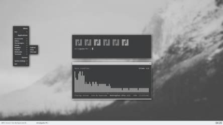 monochrome openbox by chriptik