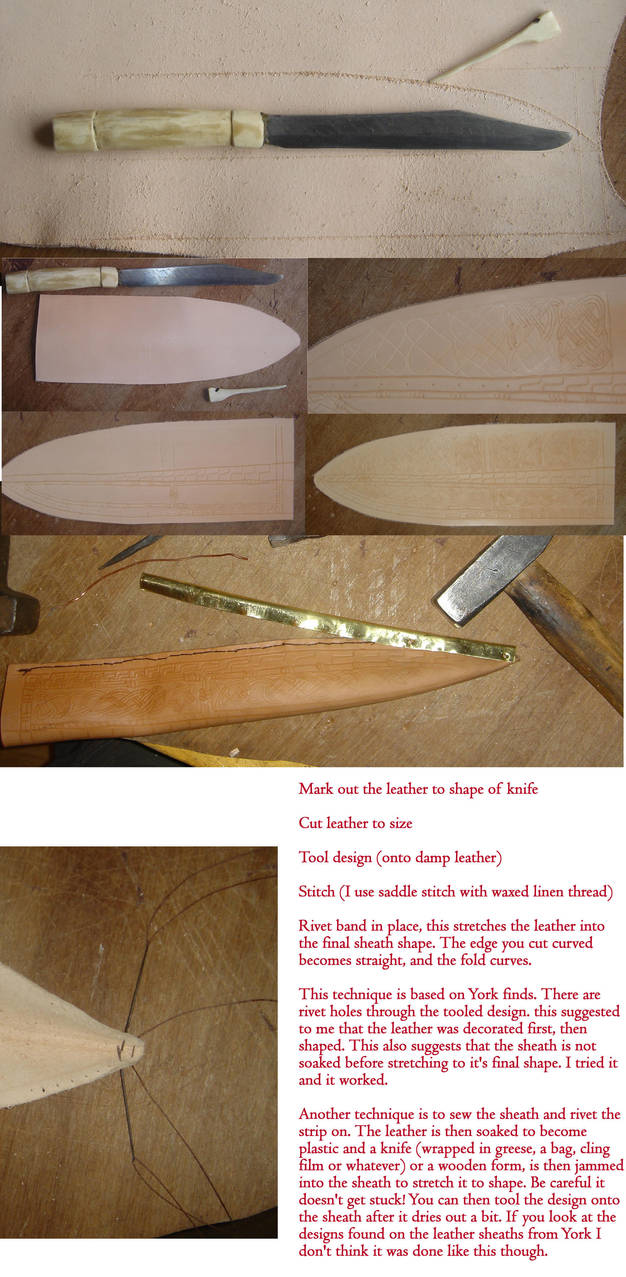 Seax Sheath Tutorial by Wordsmithcrafts