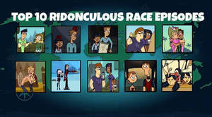 Top 10 Ridonculous Race Episodes by InnocenceandInstinic