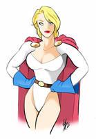 powergirl by gambaryance
