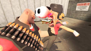 Heavy Punches The Sandwich Out Of Scout by funnytime77