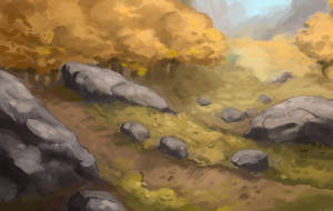 autumn forest by Waltjan