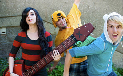 Adventure Time Cosplay by Windnstorm