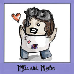 Nilla and Merlin by Windnstorm