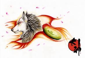 Amaterasu by CatherineSt