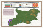 Bulgaria and Macedonia Ethnographic Map by IasonKeltenkreuzler