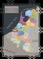 Greater Netherlands 1919 by IasonKeltenkreuzler