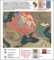 Linguistic map of the Gothic Empire, 370 AD by IasonKeltenkreuzler
