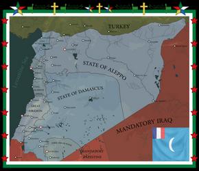French Mandate of Syria and Lebanon (1920-1936) by IasonKeltenkreuzler