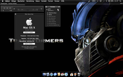 Mac Os Snow Leopard Customize by eXtansion