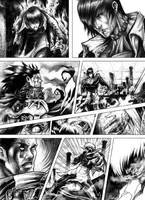 comic kof by ELZUCO