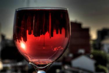 Through a glass -HDR by AlejandroCastillo