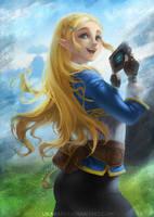 Zelda by Ukabare