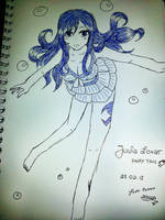 Juvia Loxar Swimsuit by SasaLovesManga