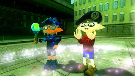 Fievel as the inkling by Xdmario