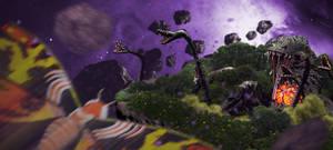 Mothra-vs-Biollante by UltimateDitto
