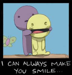 I can always make you smile by Praerion