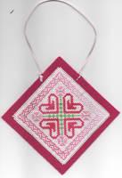 Hearts Ornament by jijikit