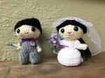 Side Track - Wedding Couple by jijikit
