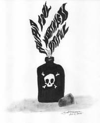 Inktober 1 - Poison by jijikit