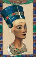 Nefertiti by Haliestra