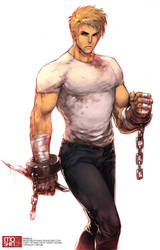 Final Fight - Cody by angryangryasian