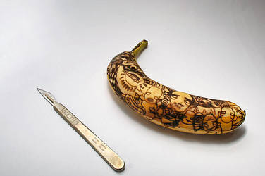 Banana Tattoos by mattrobinson