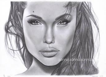 Angelina Jolie by 9sanna7