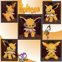Minky Jolteon Plush *Sold!* by Ami-Plushies