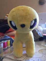 Jolteon WIP by Ami-Plushies