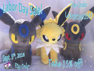 Labor Day Sale Etsy 2016 by Ami-Plushies
