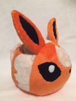 Flareon Blob Plush by Ami-Plushies