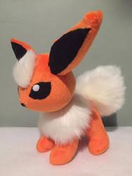 Flareon Pokemon Plushie Handmade by Ami-Plushies