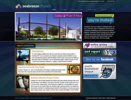 Seabreeze Church Website by Cameron-Schuyler