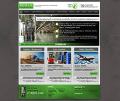 Komyo America Website by Cameron-Schuyler