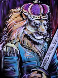 Emperor Lion by Cameron-Schuyler