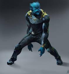 X-men Fan Art: Beast by OSCARROMER