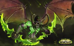 Illidan Stormage by thomasukun